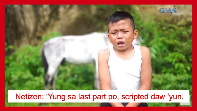 Kapuso Mo, Jessica Soho episode tungkol sa batang si Reymark, scripted lang?