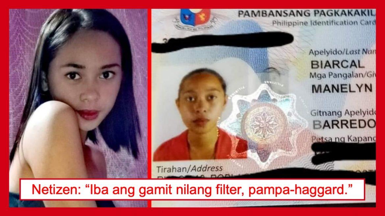 """""""National ID vs. profile pic"""" na Facebook post, nagbigay ng good vibes sa netizens"""