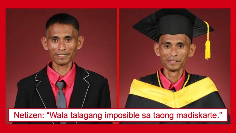 Madiskarteng ama, nakapagtapos ng kolehiyo sa kabila ng mga pagsubok