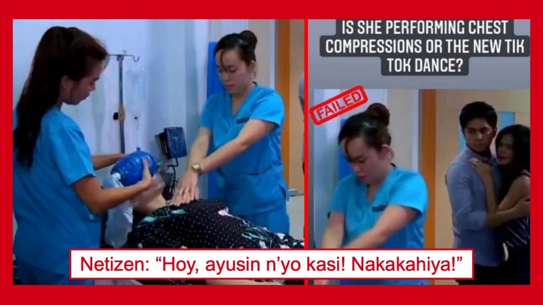 Viral CPR scene sa isang Pinoy teleserye, trending na naman sa ibang bansa