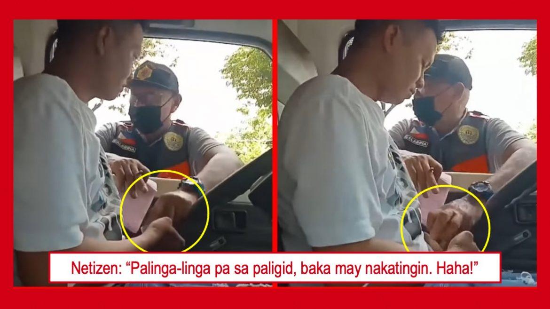 VIRAL: Aktong pangongotong ng isang enforcer sa Cebu, huli sa video